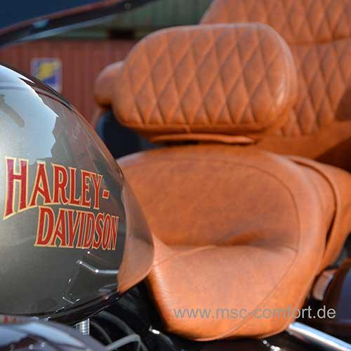 MSC-Comfort Motorrad Sitzbänke